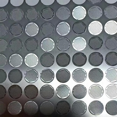 Custom design punching hole chemical photo chemical etching perforated sheet