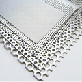 Professional fine honeycomb perforated steel iron plate punched metal mesh
