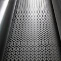 slotted/ square/ round holes galvanized hexagonal aluminum perforated metal mesh