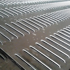 Hot sale stainless steel punched/perforated plate metal screen sheet panel by IS