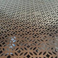 0.5/0.8/1/1.2/1.5/2 mm perforated metal mesh punching mine industry speaker gril