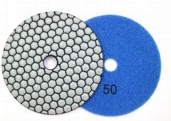 Honeycomb Dry Polishing Pad for Marble Granite Concrete Countertop Hand Polisher