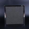 Screen diamond mesh perforated plate Glass fiber and stainless steel mixed knitt