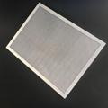 aluminum foil mesh frame plate filter air purifier filter ga  anized steel wire