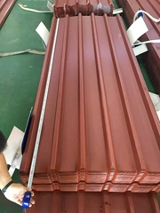 Color Coated ASP Composite Steel Corrugated Roofing Sheet