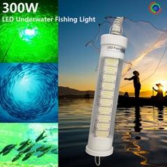 12V 300W Underwater Fishing Light Lure Bait Finder Night Fishing Light