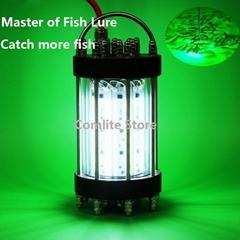 600W AC110V/220-240V LED Night Fishing Lights Underwater Attracting Fishing Lure