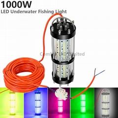 1000W AC220-240V Ocean Deep Underwater LED Fishing Lure Carp Fishing Bait Lights