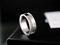 Top Selling Cartier Luxury Brand Ring Stainless Steel Gold Rings Women's Jewelry