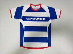 Wholesale and retail the highest quality customized sublimation rugby jersey
