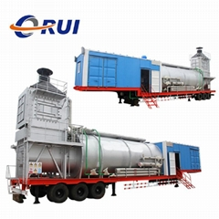 Trailer Mounted Movable Oilfield Steam Injection Boiler for Petroleum Industry