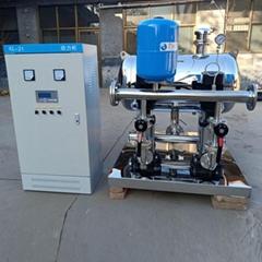 石家庄水能环保 无负压变频供水设备 小区供水二次加压设备