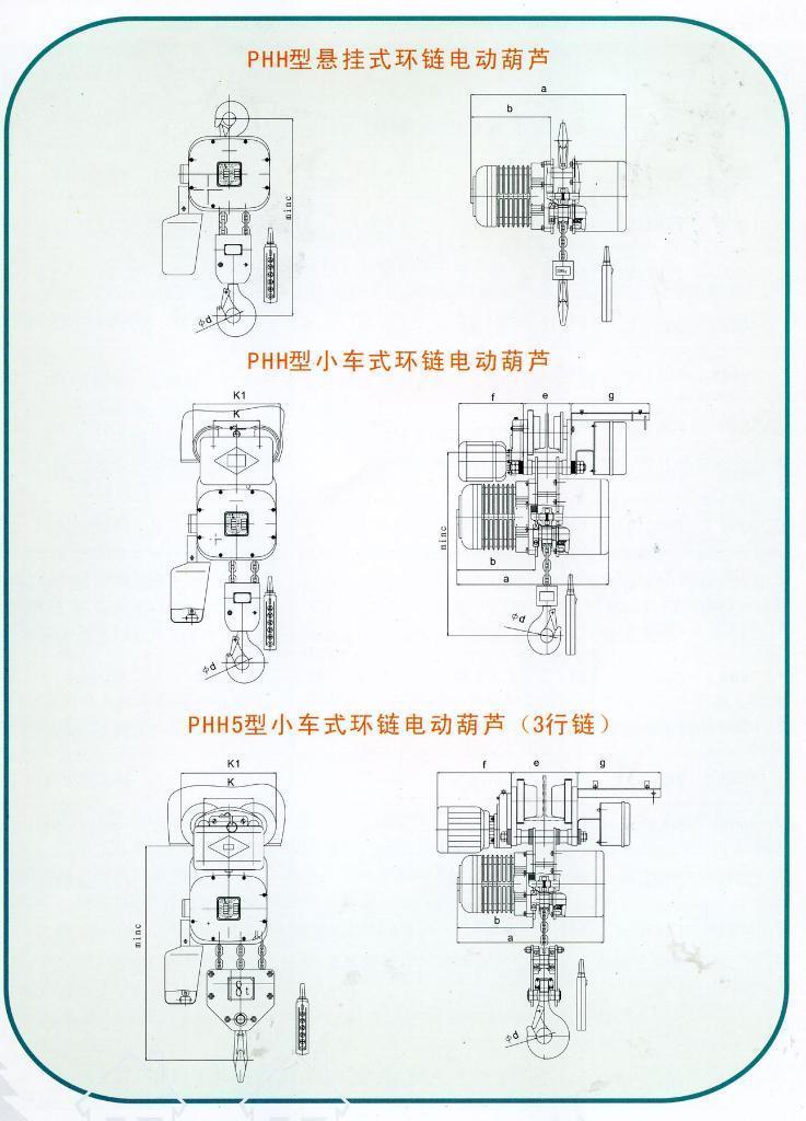 PHH型32t環鏈電動葫蘆 4