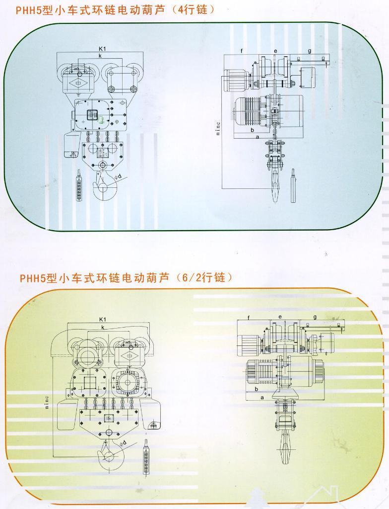 PHH型32t環鏈電動葫蘆 5