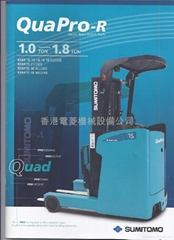 NEW MODEL SUMITOMO REACH TRUCK