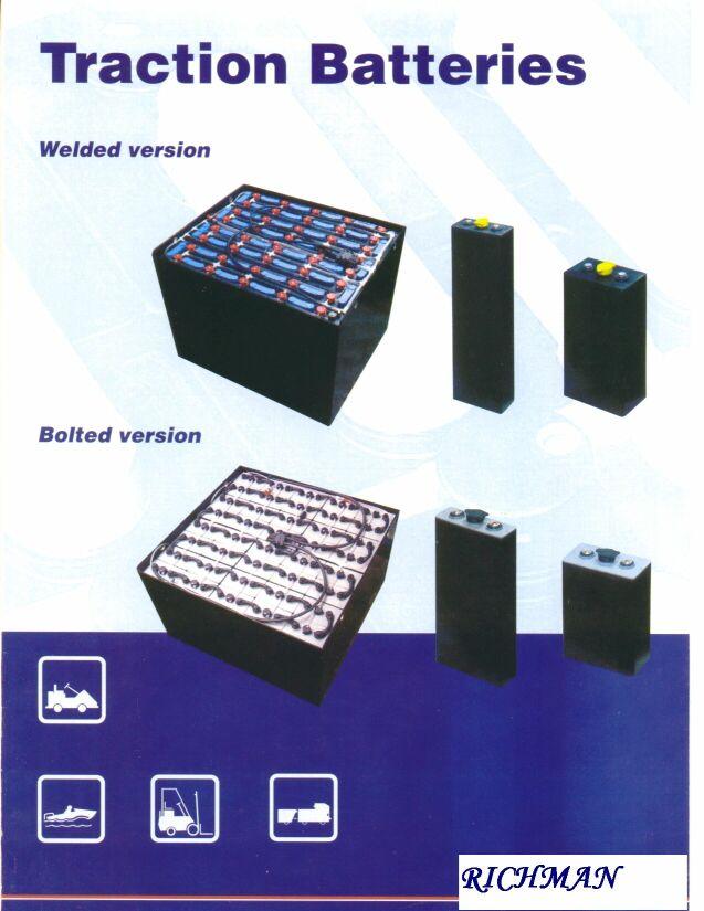 牵引车及叉车电池(电瓶) TRACTION BATTERY 1