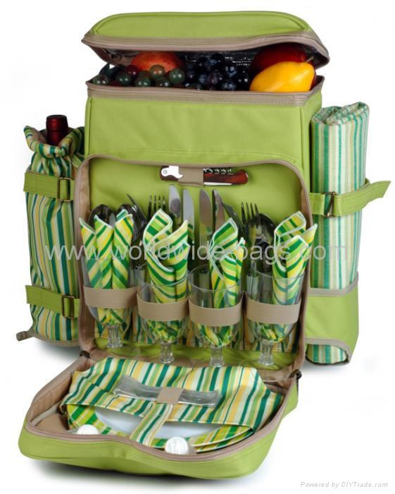 WW04-0106 picnic barckpack for 4 persons