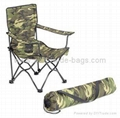 WW01-0058 Deluxe Camouflage Folding Arm Chairs
