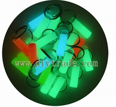 Glow in the dark promotional gift key chain