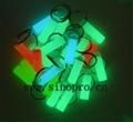 Glow in the dark key fob