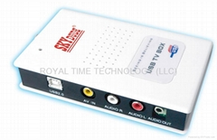 USB TV TUNER WITH FM (OPTIONAL)