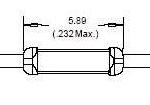 5.89mm扁平干簧管UM2S