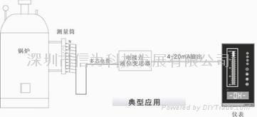 高精度电容式油量传感器 1