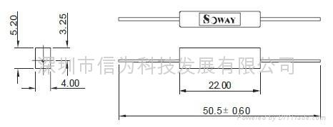 深圳现货 低功率常闭型干簧接近开关 包包专用磁性开关  2
