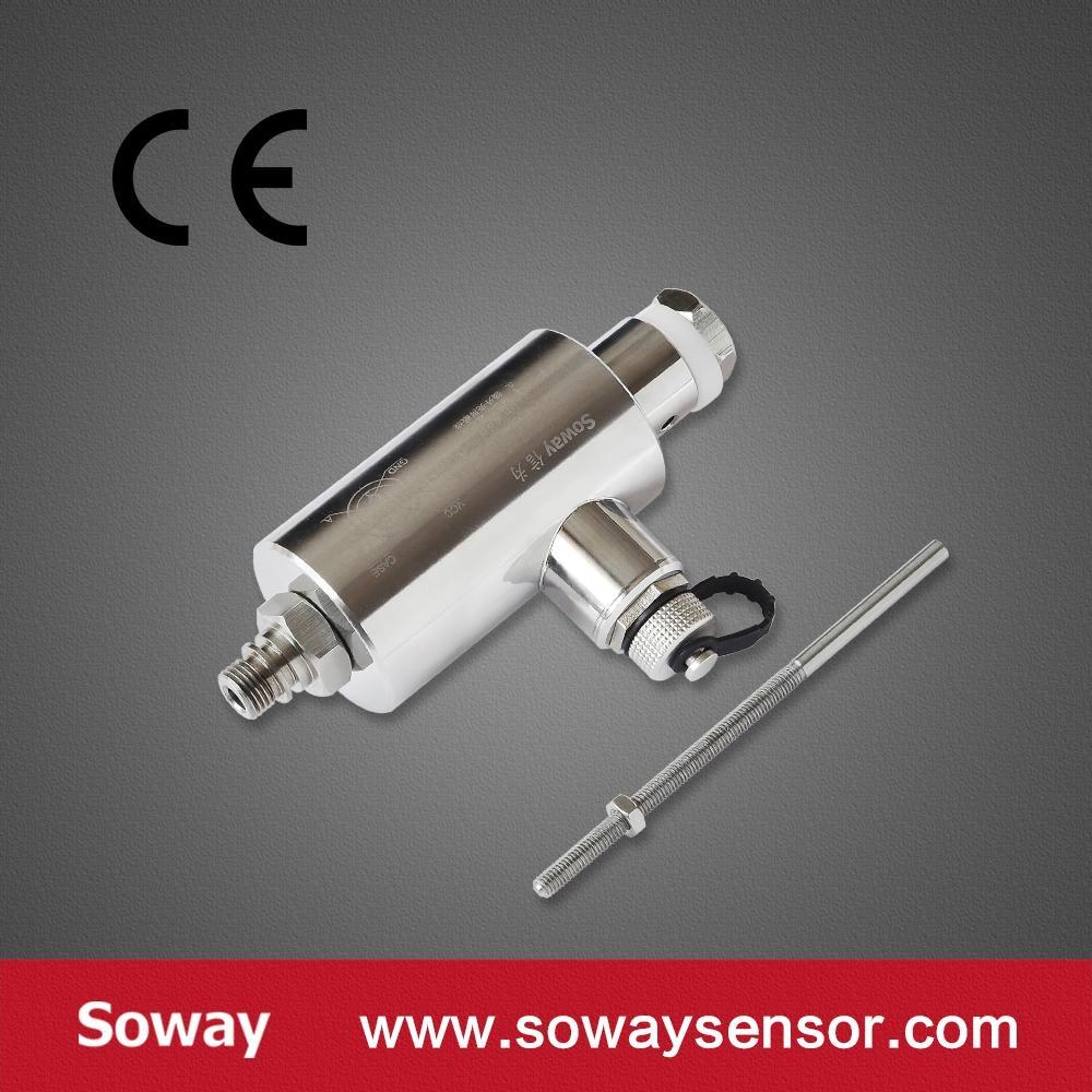經濟型5mm回彈式位移傳感器(自復位) 13