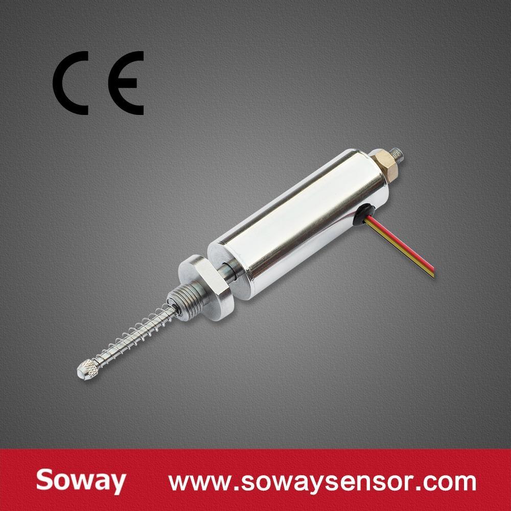 經濟型5mm回彈式位移傳感器(自復位) 8