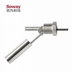 廠家直銷 不鏽鋼水平安裝浮球液位開關 常開常閉一體 可定製