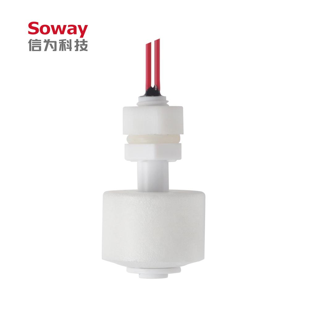 two wires Plastic water level sensor manufacturers M10 Magnetic float switch 4