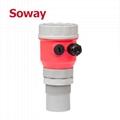 专业水箱监测超声波液面流量计/传感器 5