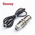 explosion proof ultrasonic fuel level sensor RS485 for fuel tank level 12