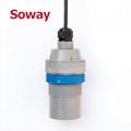Liquid industry 12-24VDC ultrasonic level meters for fuel oil level measurement
