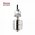 horizontal installed stainless steel magnetic float level switch 1
