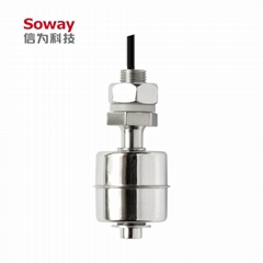 horizontal installed stainless steel magnetic float level switch (Hot Product - 1*)