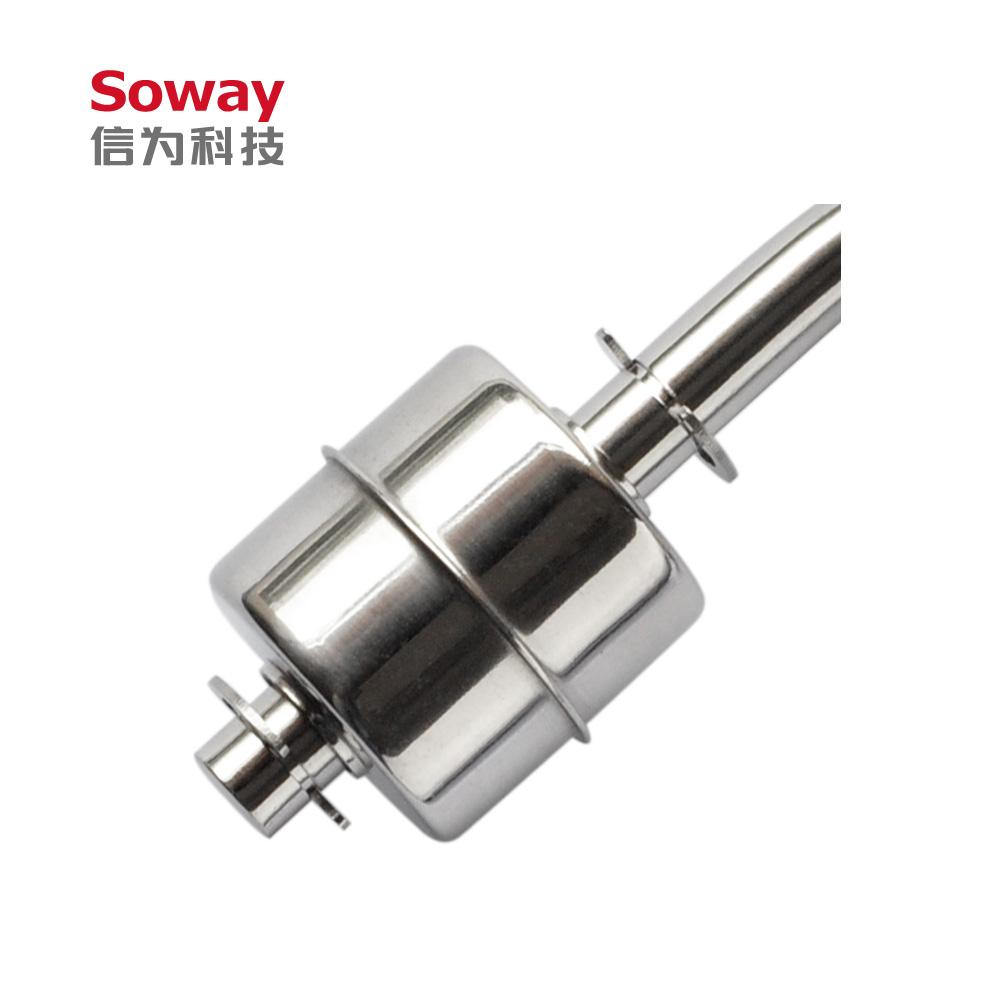 horizontal installed stainless steel magnetic float level switch 3