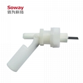 horizontal installed stainless steel magnetic float level switch