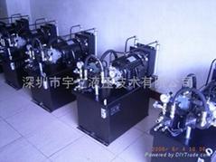 機床液壓系統