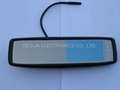 "Clip on Anti-Glare Rearview Mirror with 4.3 "" TFT LCD Color Monitor Bluetooth  2"