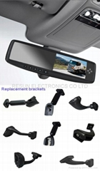 4.3 inch Car Rearview Mirror TFT LCD Monitor with 5 Way Channel Video Input