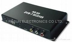 Car HD MPEG-4 DVB-T TV T