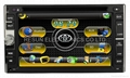 Universal Two-Din Car DVD GPS DVB-T