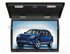 19 inch Fold Down - Roof  Mount TFT LCD Monitor with IR