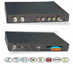 Car HD MPEG-4 DVB-T Tuner with Pay TV Slot