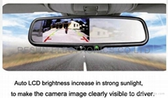 4 inch Car RearView Mirr