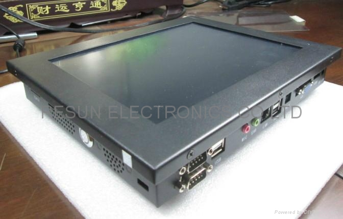 industrial fanless touch panel pc with 10 inch IPS LCD Panel 1