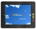 19 inch Rugged Wide Temperature Fanless Touch Panel PC