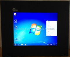 """12.1"""" Fanless Industrial Touch Screen Panel PC with 24V power supply"""